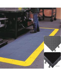 ErgoDeck MAX Diamond-Plate Flooring