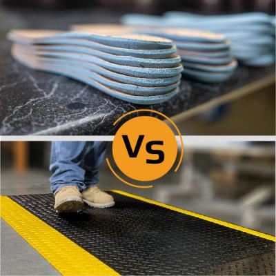 Mats vs Insoles: Know Before You Buy