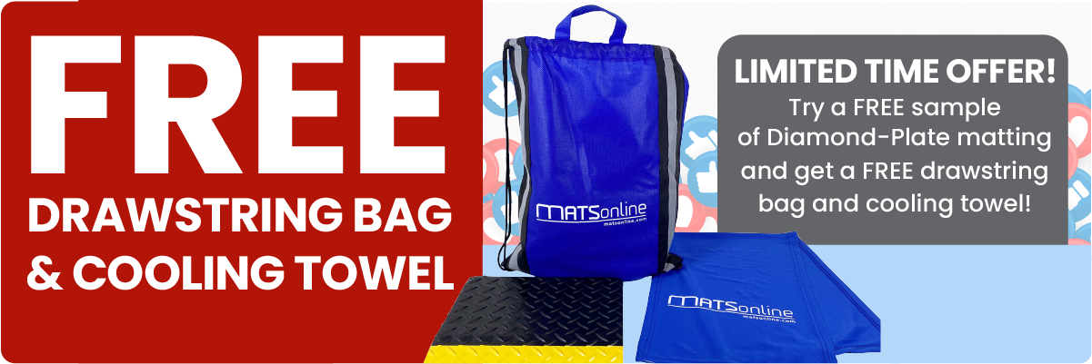 Get Your Free Drawstring Bag!